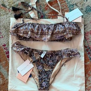 SPELL & The Gypsy Collective Oasis Frill Swim Set